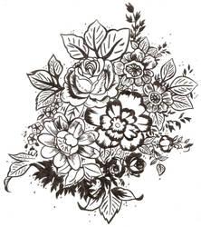 flowers by marikimaru