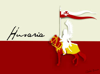 Polish Winged Hussar With Background by Chrissyissypoo19