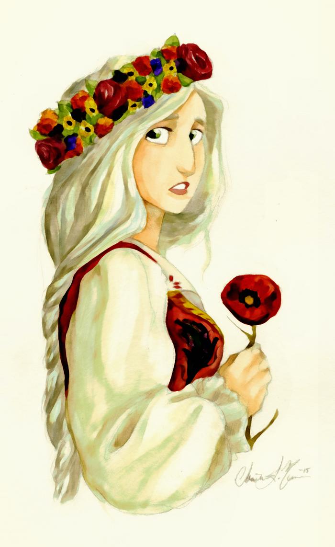 Poppy Girl by Chrissyissypoo19