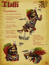 Tezcatlipoca Character Sheet by Chrissyissypoo19