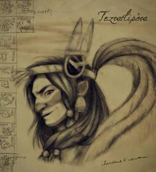 Tezcatlipoca Bust (Gift) by Chrissyissypoo19