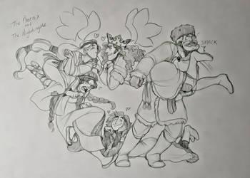 The Phoenix and the Nightingale Gang by Chrissyissypoo19