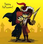 Happy Halloween! by NathanButlerArt