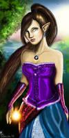 Elven magic by Ines92