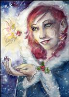 Christmas elf by Ines92