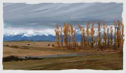 Kirgistan Virtual Plein Air by Ines92