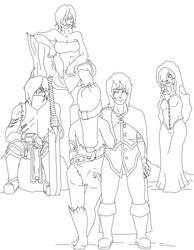 Group pic wip by WintersOfWesley