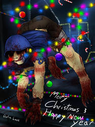 Late Christmas and New Year wishes from Claws by 13OukaMocha13