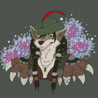Commission: Ylenniara Winterleaf by dreamwildart