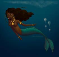 Mermaid by stripedkitty