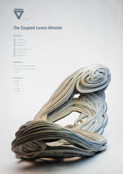 Strange Attractors - The Coupled Lorenz Attractor by ChaoticAtmospheres