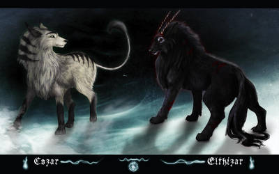 Spirit Beasts by CobraVenom