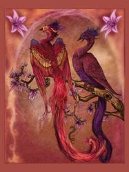 Phoenix in Spring by CobraVenom