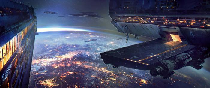 Space Station by CobraVenom