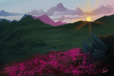 Sunset by Kplmr