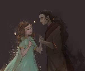 Hades Y Persephone  by Kplmr