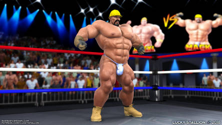 Hard Body Wrestling 01 by lucky-stallion