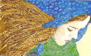Goose Girl by Juja-Anandini
