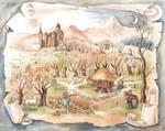 Hut of Hagrid by MorMoraIG