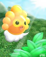 Sunny Castform by CRAZ1
