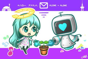 Hello Alone by CRAZ1