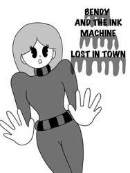 My oc in my own bendy and the ink machine style by jacindaadams