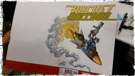 Rocket Racoon by SerenaGuerra