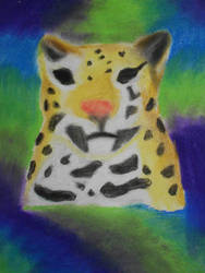 jaguar pastel by pato11chavz