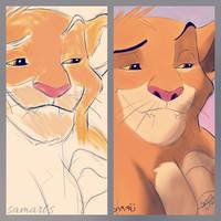Simba, The King. by samueldplima