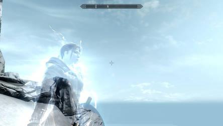 Skyrim Screenshot: Alessia Septim II, Shezarrine by RoguishBard