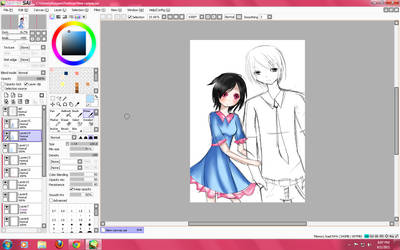 Art request WIP by KuromimiNEKO