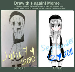 Improvement meme by KuromimiNEKO