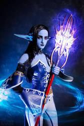 Dark Elf Cosplay  Lineage Ii By Li0rra-dc8hvdt by GreenJedi01