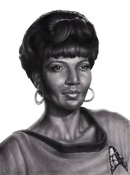 Uhura portrait            2 smaller by RodgerHodger