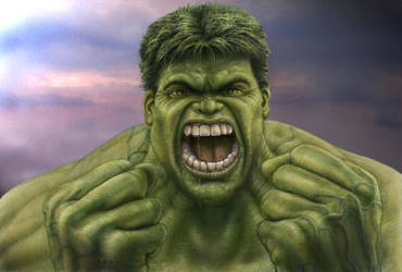 HULK RAGE   3 Colour_  jpg by RodgerHodger