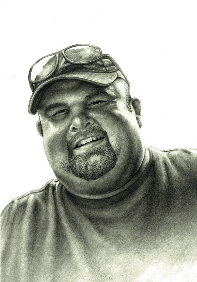 Commission  - Portrait of Paul by RodgerHodger