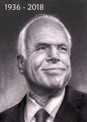 John McCain   1936 - 2018   SML by RodgerHodger