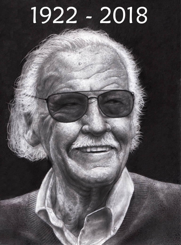 STAN LEE   1922 - 2018 by RodgerHodger