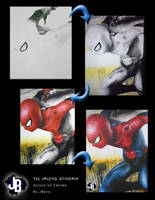 The Amazing Spiderman by JBerlyart