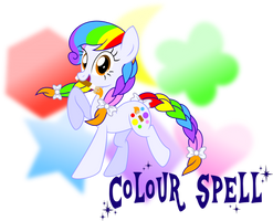 MLP: FIM OCs -Colour Spell by MeganLovesAngryBirds