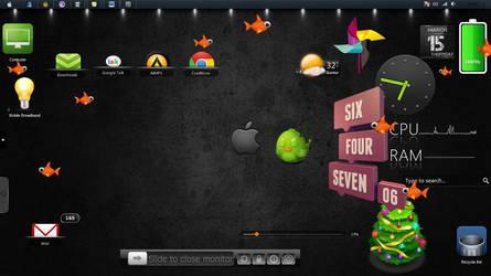 apple screenshot 2 + widgets by Das09