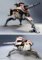 W.I.P. spy-d recon droid by Crashmgn