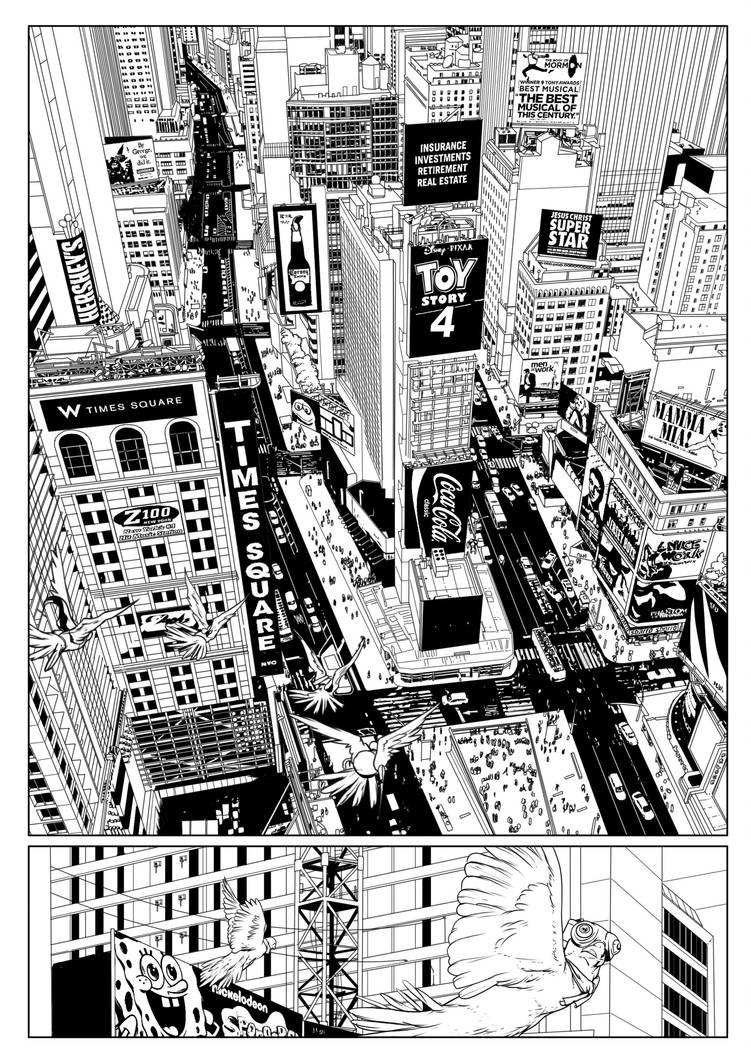 Carriers - Comic written by Ben Ferrari by TFGuillen