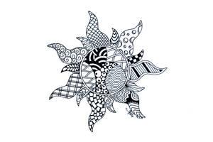 Tangled Zentangled by NeverDoubtILove