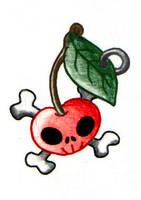 cherry tattoo by Heavens-harbinger