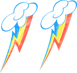 Rainbow Dash Cutie Mark by Zaeinn