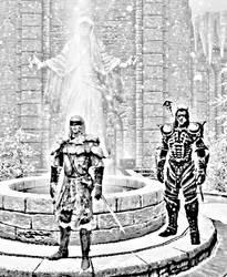 Blind Master of the Dremora by PhantasyPen