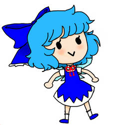 Cirno Better by hairclipz