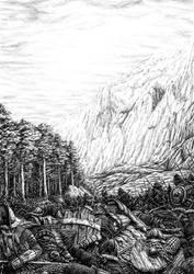Battle of Nanduhirion, part 2 by Tulikoura