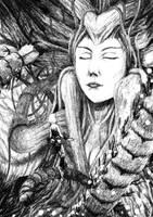 Awaking the Druniad Goddess by Tulikoura